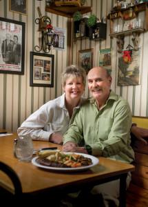 Bruce Hotel Steak Dinner