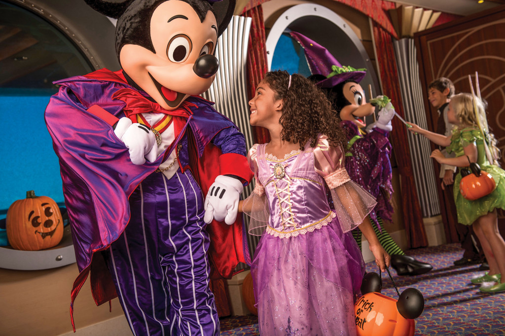 Disney Cruise Line will treat guests sailing this fall to a wickedly good time as the Disney ships transform into a ghoulish wonderland during Halloween on the High Seas cruises.