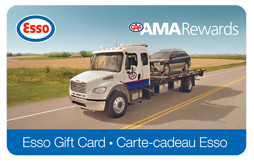 Esso Reloadable Gas Card