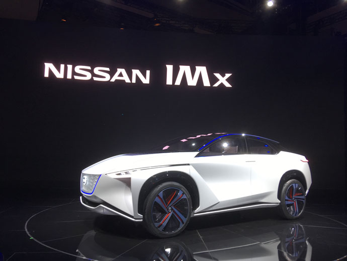 Nissan IMx on display